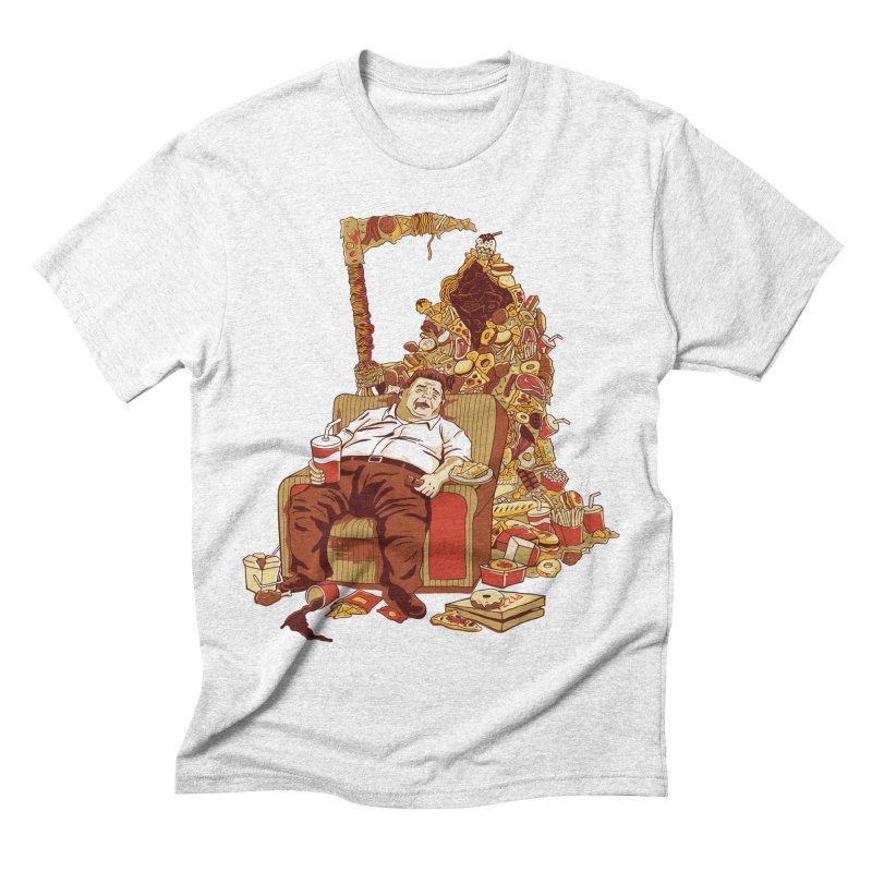 THE DEADLY DIET Men's Triblend T-shirt by cmatos's Artist Shop