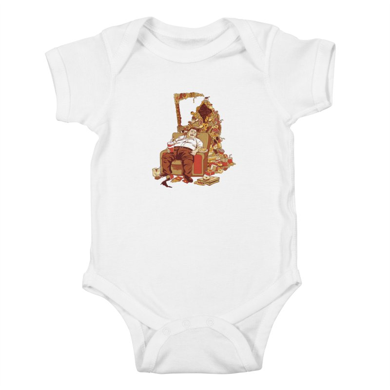 THE DEADLY DIET Kids Baby Bodysuit by cmatos's Artist Shop