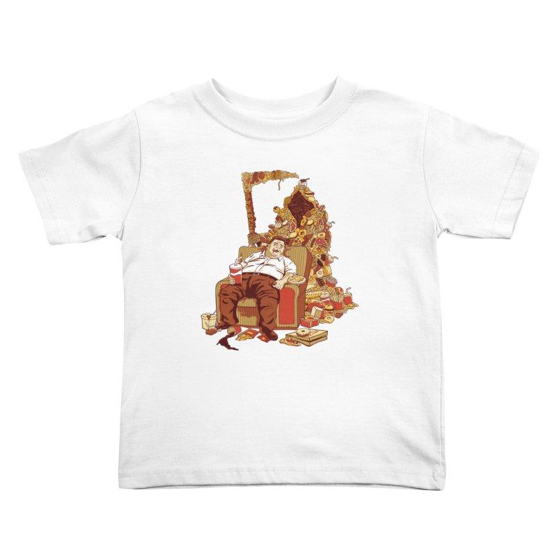 THE DEADLY DIET Kids Toddler T-Shirt by cmatos's Artist Shop