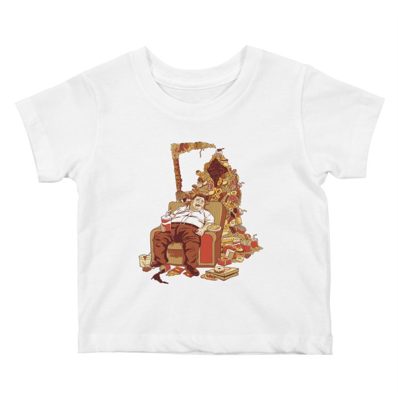 THE DEADLY DIET Kids Baby T-Shirt by cmatos's Artist Shop