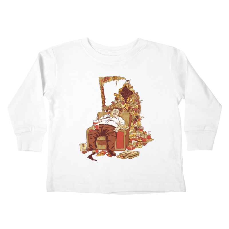 THE DEADLY DIET Kids Toddler Longsleeve T-Shirt by cmatos's Artist Shop