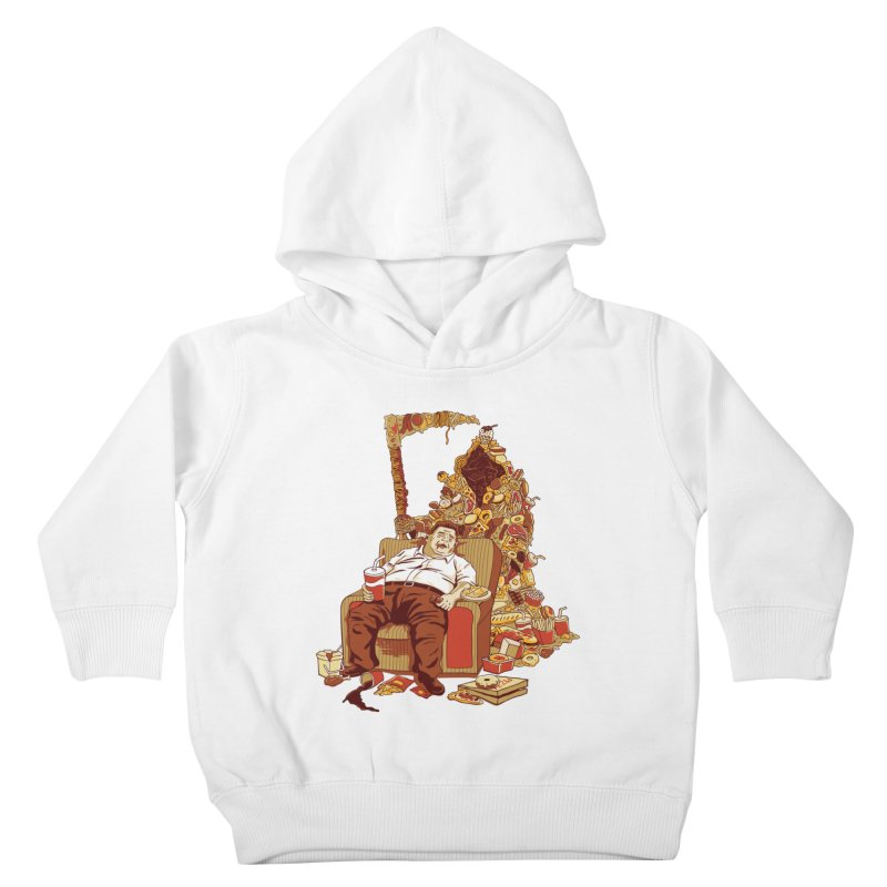 THE DEADLY DIET Kids Toddler Pullover Hoody by cmatos's Artist Shop