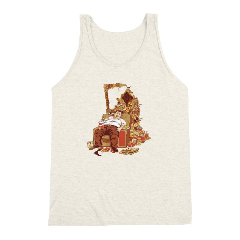 THE DEADLY DIET Men's Triblend Tank by cmatos's Artist Shop