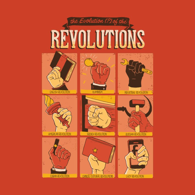 The Evolution of the Revolutions None  by cmatos's Artist Shop