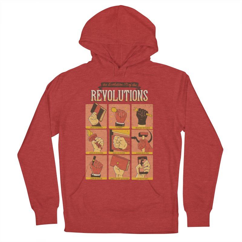 The Evolution of the Revolutions Women's Pullover Hoody by cmatos's Artist Shop