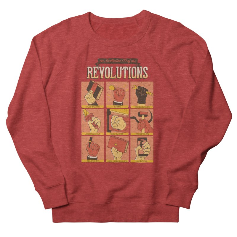 The Evolution of the Revolutions Men's Sweatshirt by cmatos's Artist Shop