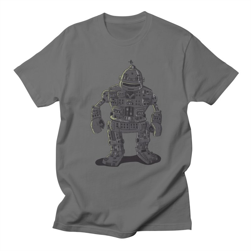 ROBOT CITY Men's T-shirt by cmatos's Artist Shop