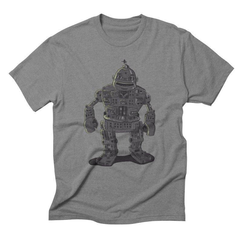 ROBOT CITY Men's Triblend T-Shirt by cmatos's Artist Shop