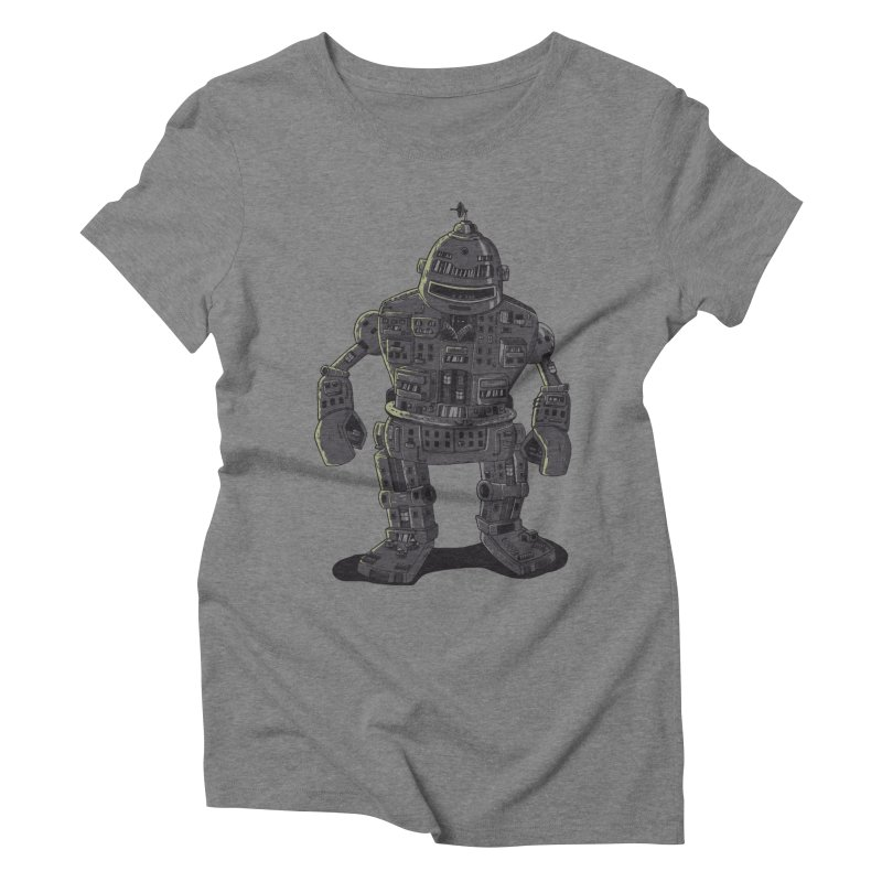ROBOT CITY Women's Triblend T-shirt by cmatos's Artist Shop