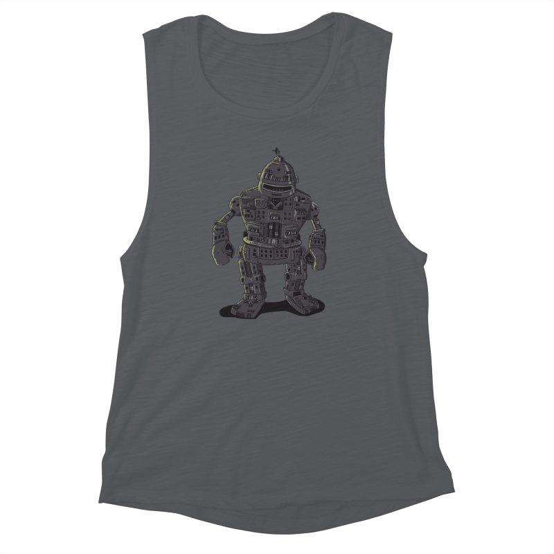 ROBOT CITY Women's Muscle Tank by cmatos's Artist Shop