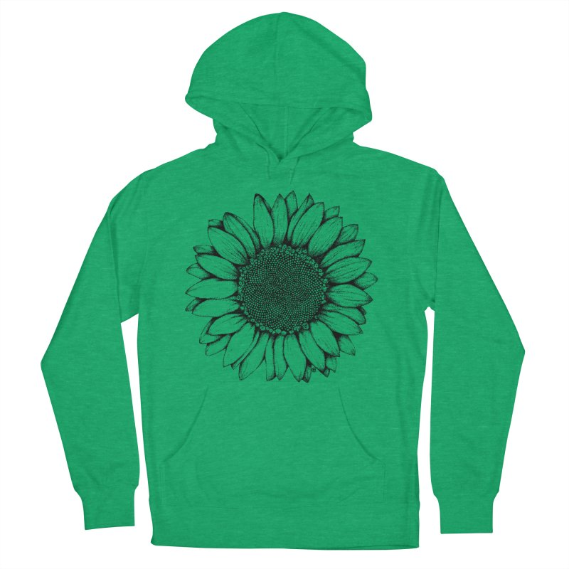 Sunflower Women's Pullover Hoody by cmatthesart's Artist Shop