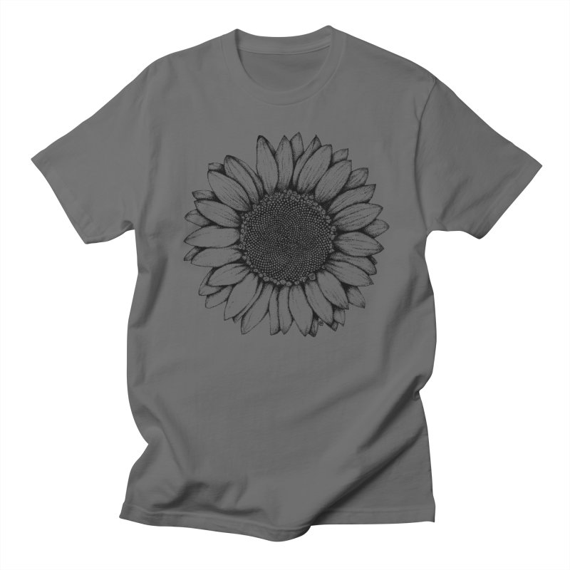 Sunflower Men's T-shirt by cmatthesart's Artist Shop