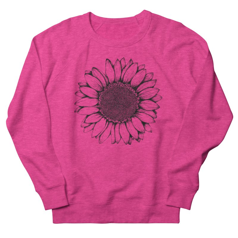 Sunflower Women's Sweatshirt by cmatthesart's Artist Shop