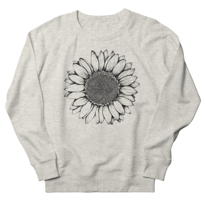 Sunflower Men's Sweatshirt by cmatthesart's Artist Shop