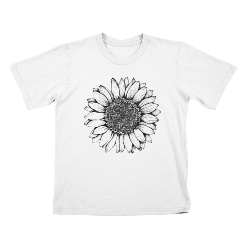 Sunflower Kids T-shirt by cmatthesart's Artist Shop