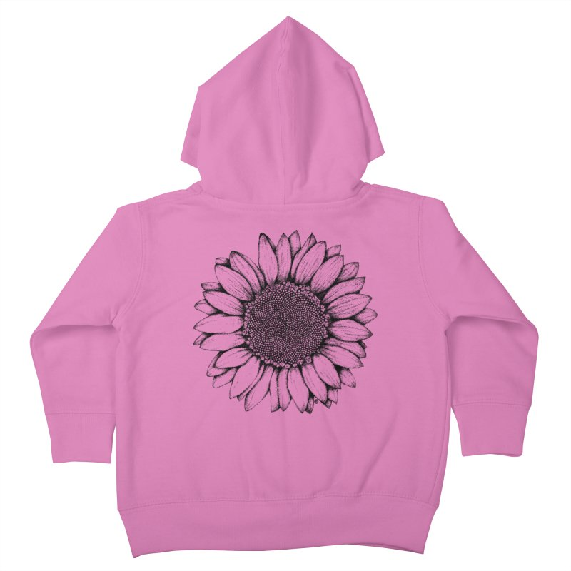 Sunflower Kids Toddler Zip-Up Hoody by cmatthesart's Artist Shop