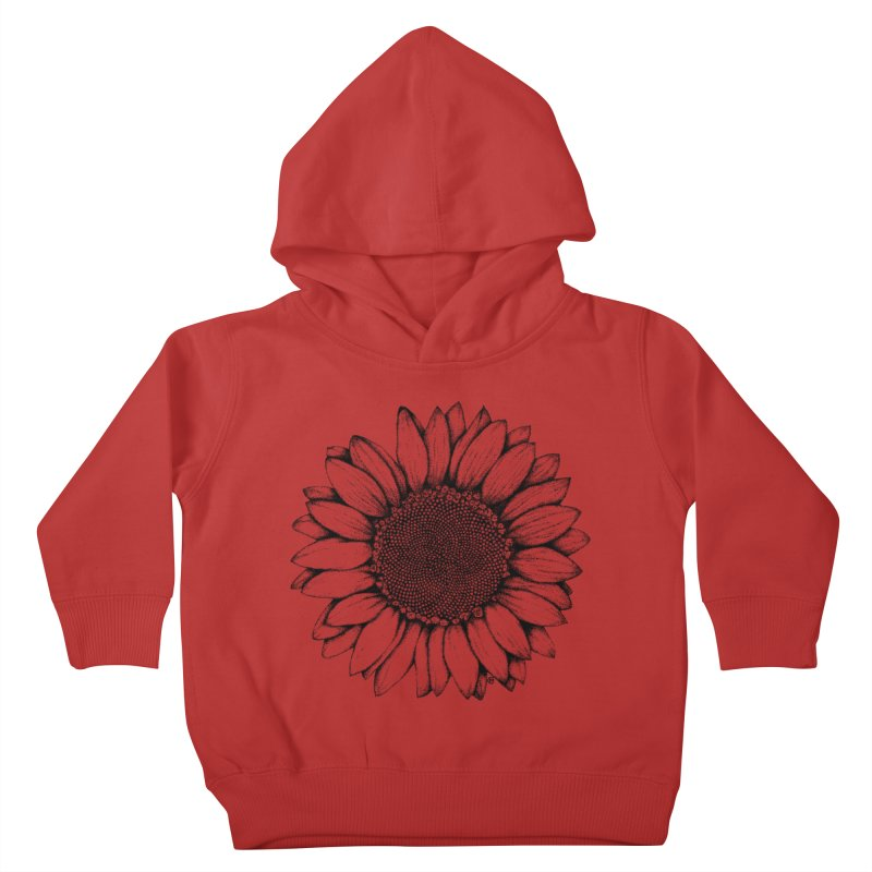 Sunflower Kids Toddler Pullover Hoody by cmatthesart's Artist Shop