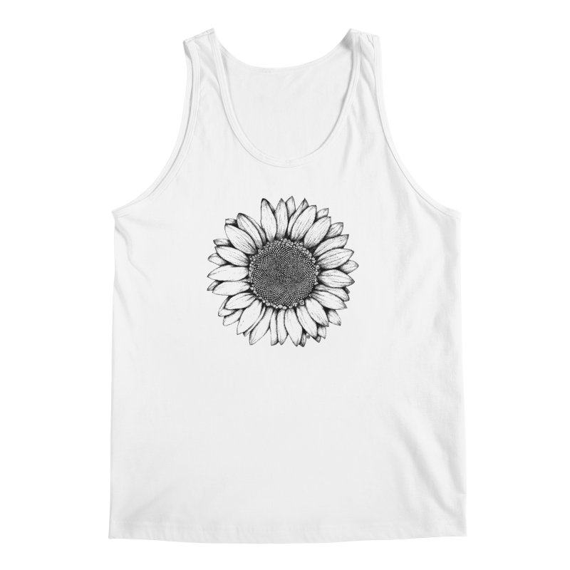 Sunflower Men's Tank by cmatthesart's Artist Shop