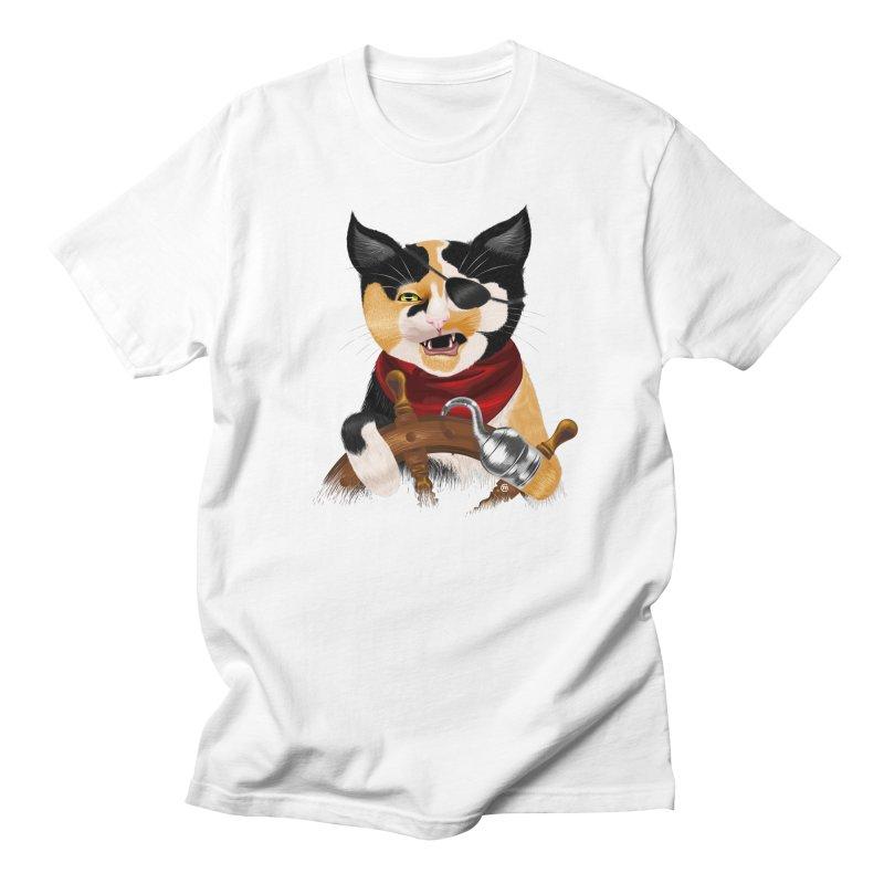 Purrrrate! Men's T-Shirt by cmatthesart's Artist Shop