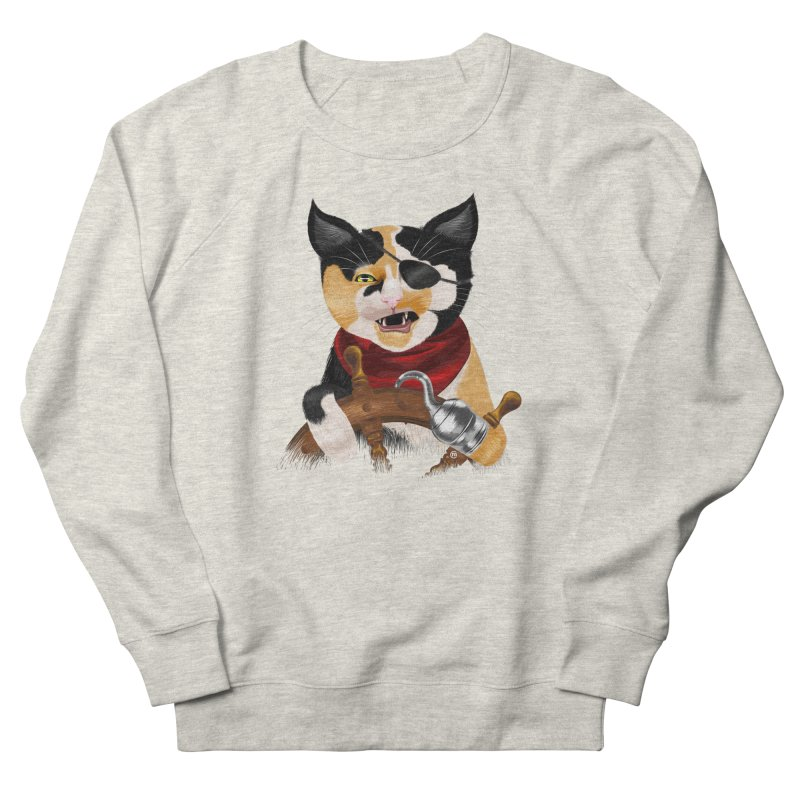 Purrrrate! Women's Sweatshirt by cmatthesart's Artist Shop