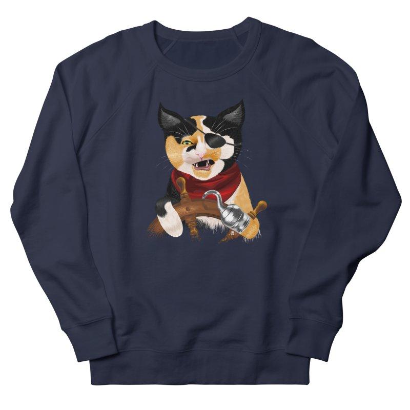 Purrrrate! Men's Sweatshirt by cmatthesart's Artist Shop