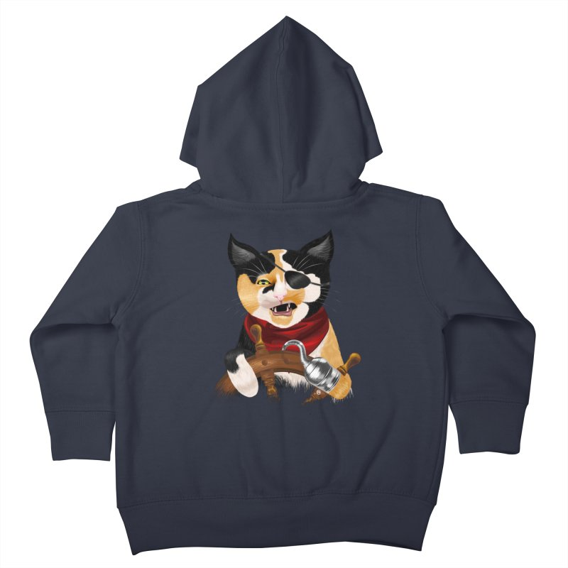 Purrrrate! Kids Toddler Zip-Up Hoody by cmatthesart's Artist Shop