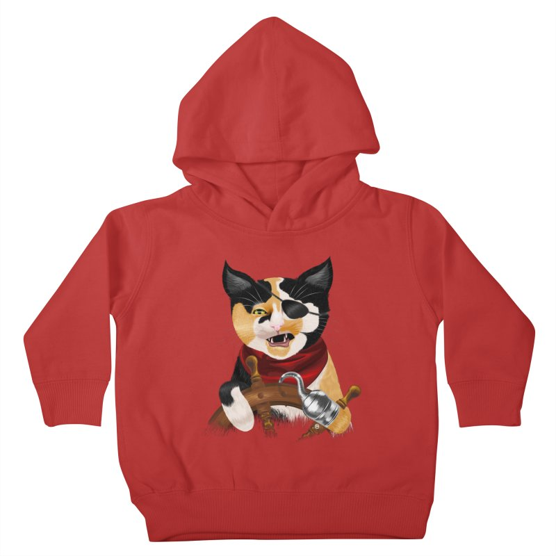 Purrrrate! Kids Toddler Pullover Hoody by cmatthesart's Artist Shop