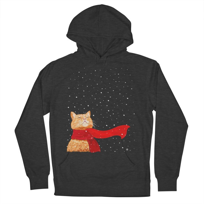 Tabby loves Snow   by cmatthesart's Artist Shop