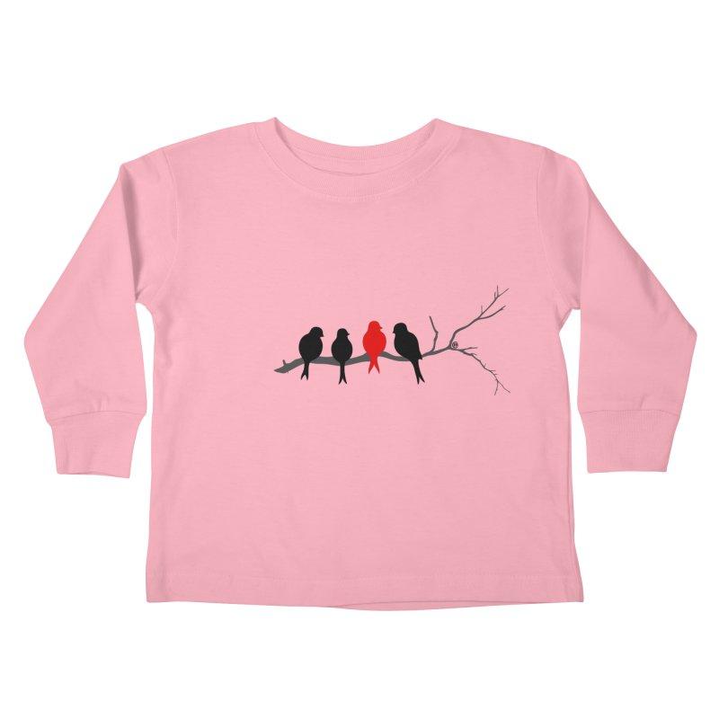 Individualist Kids Toddler Longsleeve T-Shirt by cmatthesart's Artist Shop