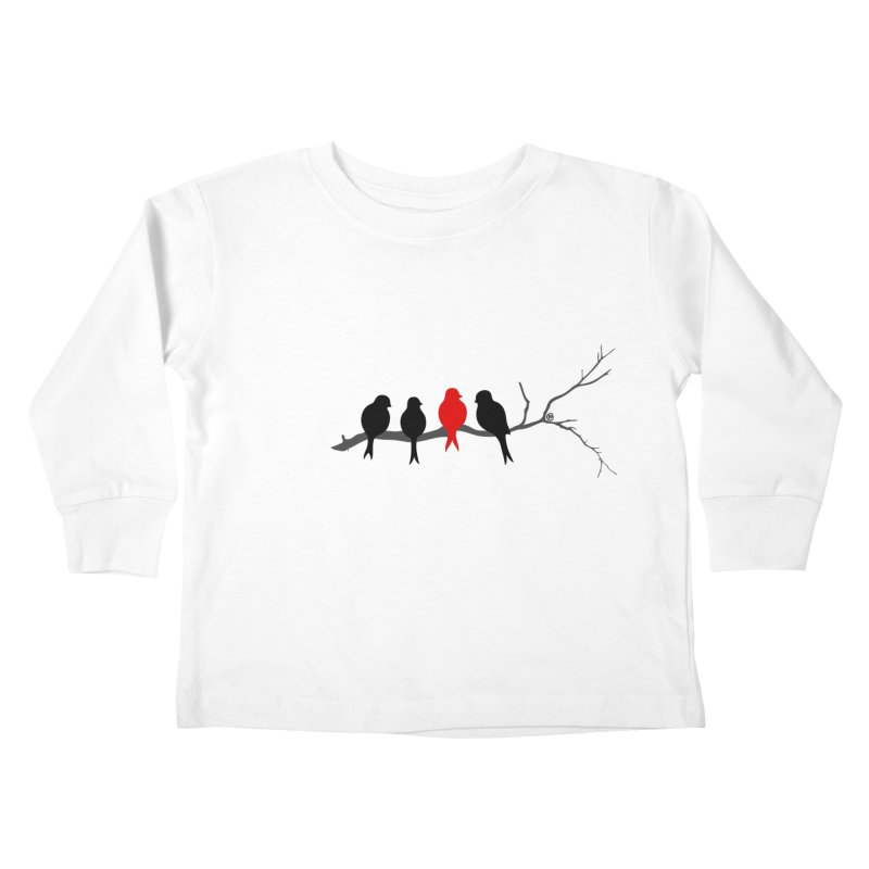 Individualist Kids Toddler Longsleeve T-Shirt by cmatthesart's Artist Shop