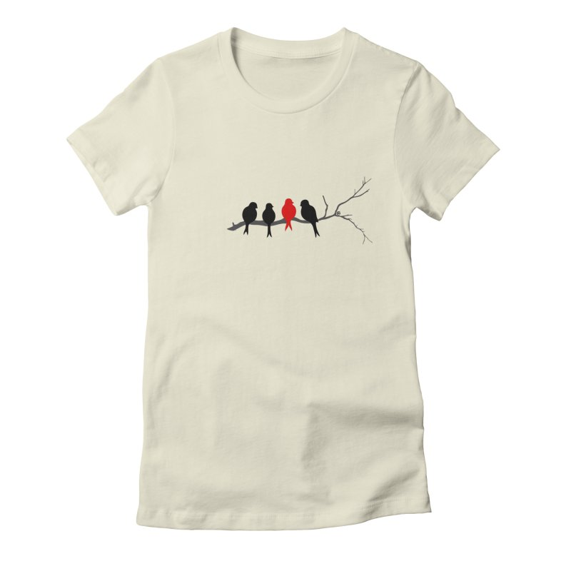 Individualist Women's Fitted T-Shirt by cmatthesart's Artist Shop