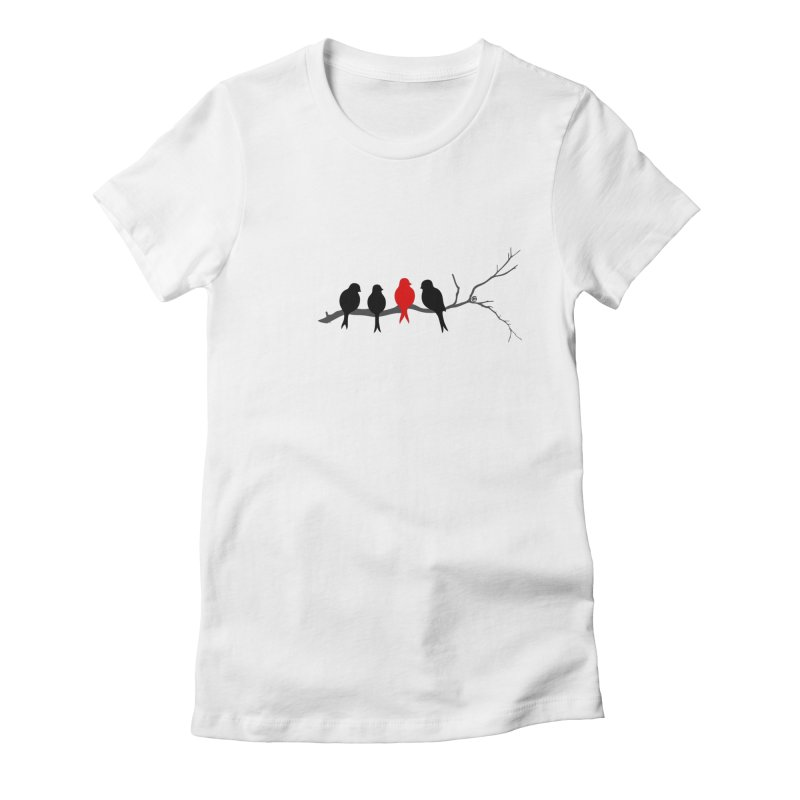 Individualist Women's Fitted T-Shirt by cmatthesart's Artist Shop