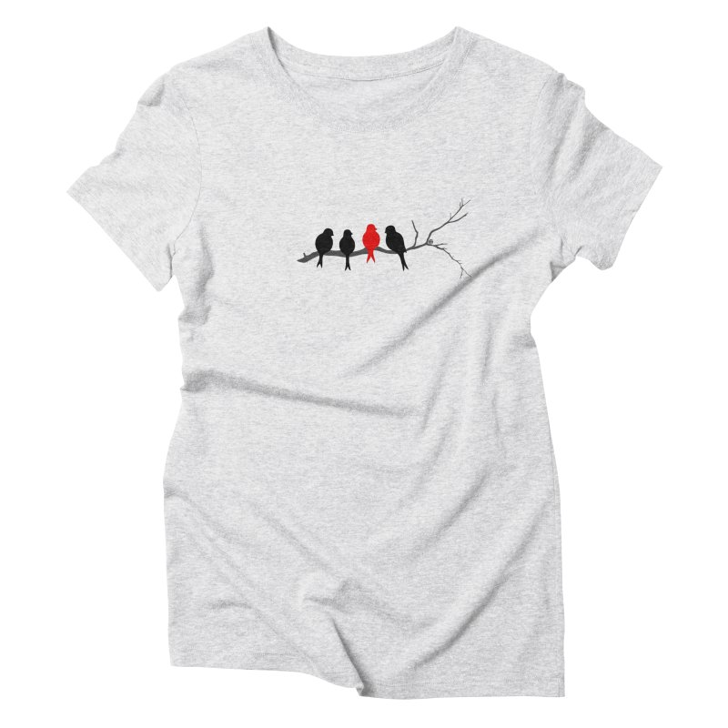 Individualist Women's Triblend T-Shirt by cmatthesart's Artist Shop