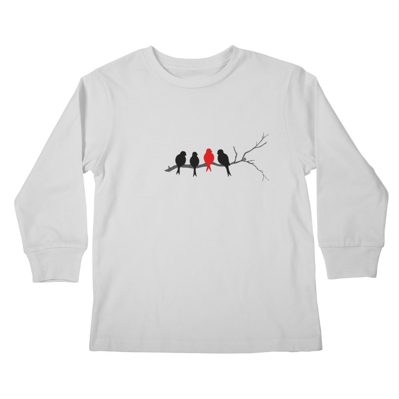 Individualist Kids Longsleeve T-Shirt by cmatthesart's Artist Shop