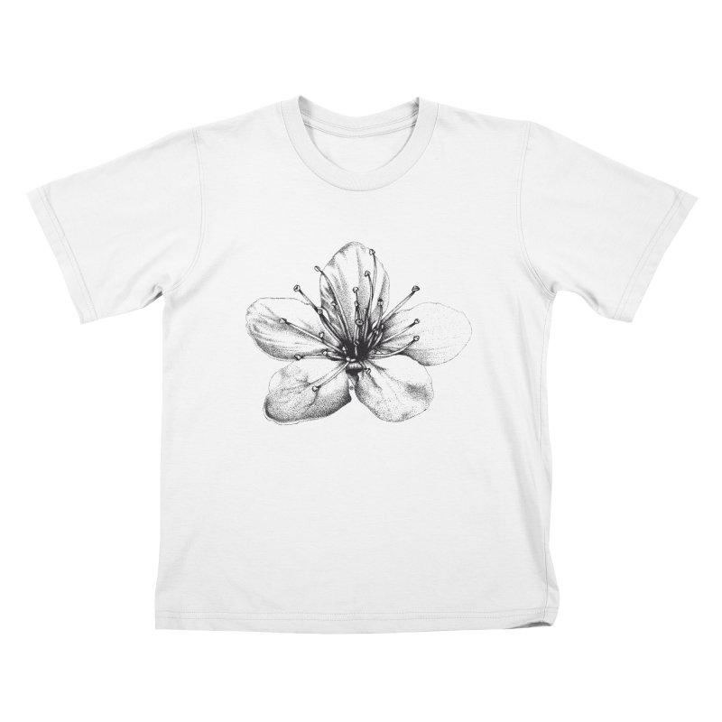 Cherry Blossom Kids Toddler T-Shirt by cmatthesart's Artist Shop