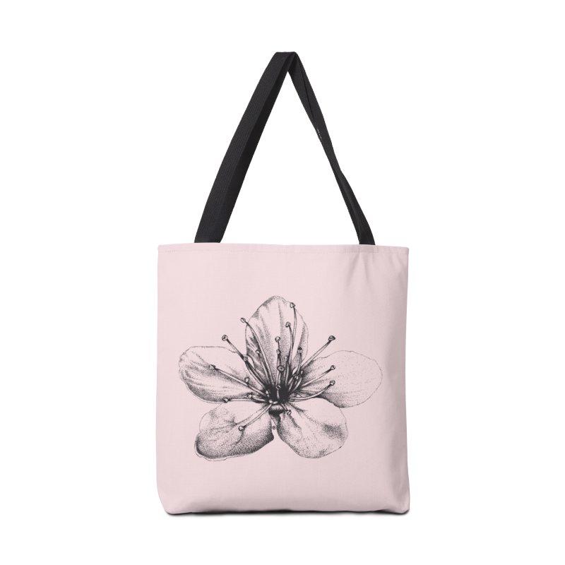 Cherry Blossom Accessories Bag by cmatthesart's Artist Shop