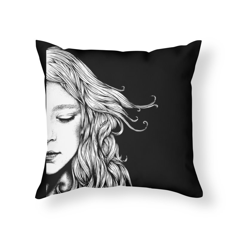 Dreaming Home Throw Pillow by cmatthesart's Artist Shop