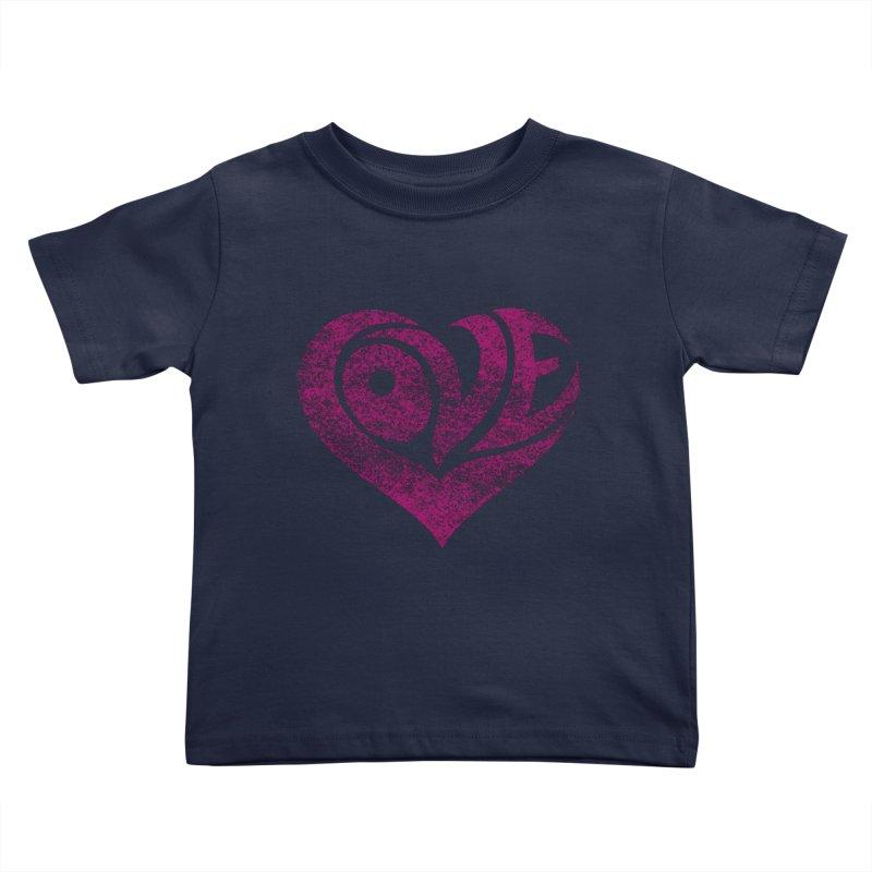 Love Kids Toddler T-Shirt by cmatthesart's Artist Shop