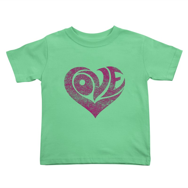 Love Kids Toddler T-Shirt by cmatthesart's Artist Shop