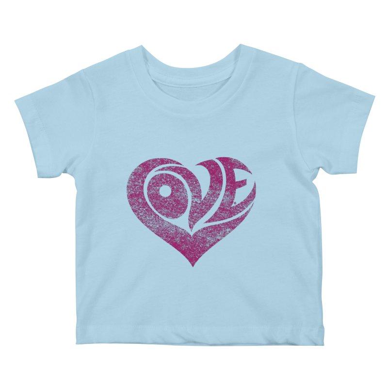 Love Kids Baby T-Shirt by cmatthesart's Artist Shop