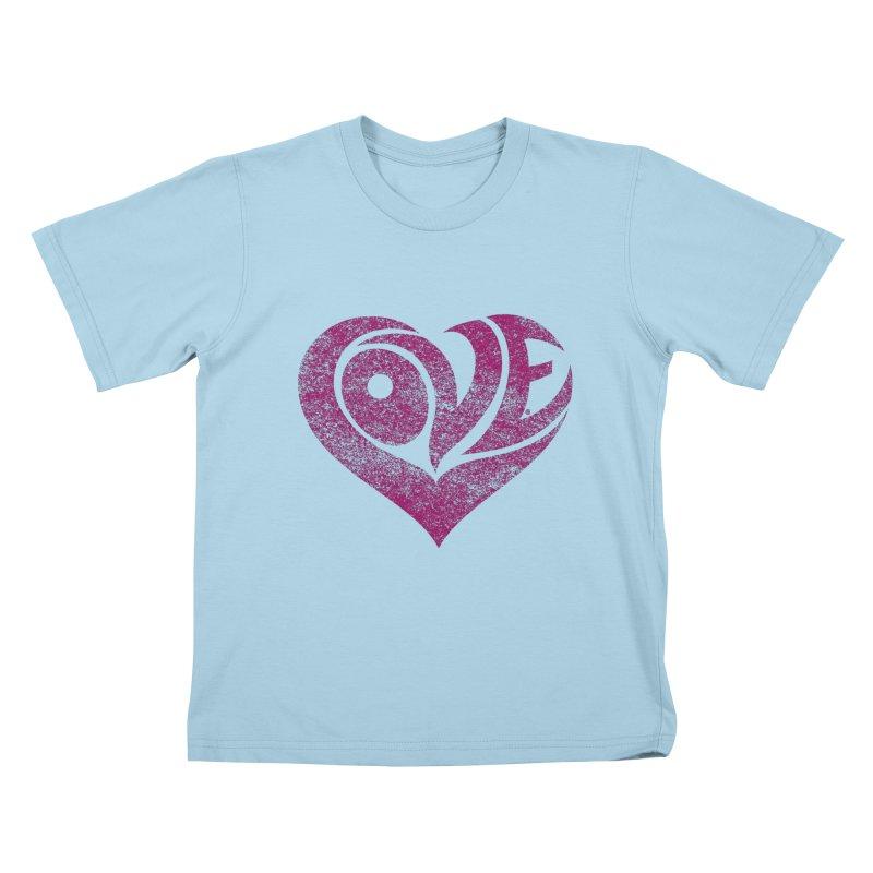 Love Kids T-Shirt by cmatthesart's Artist Shop
