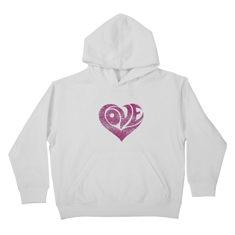 Love Kids Pullover Hoody by cmatthesart's Artist Shop