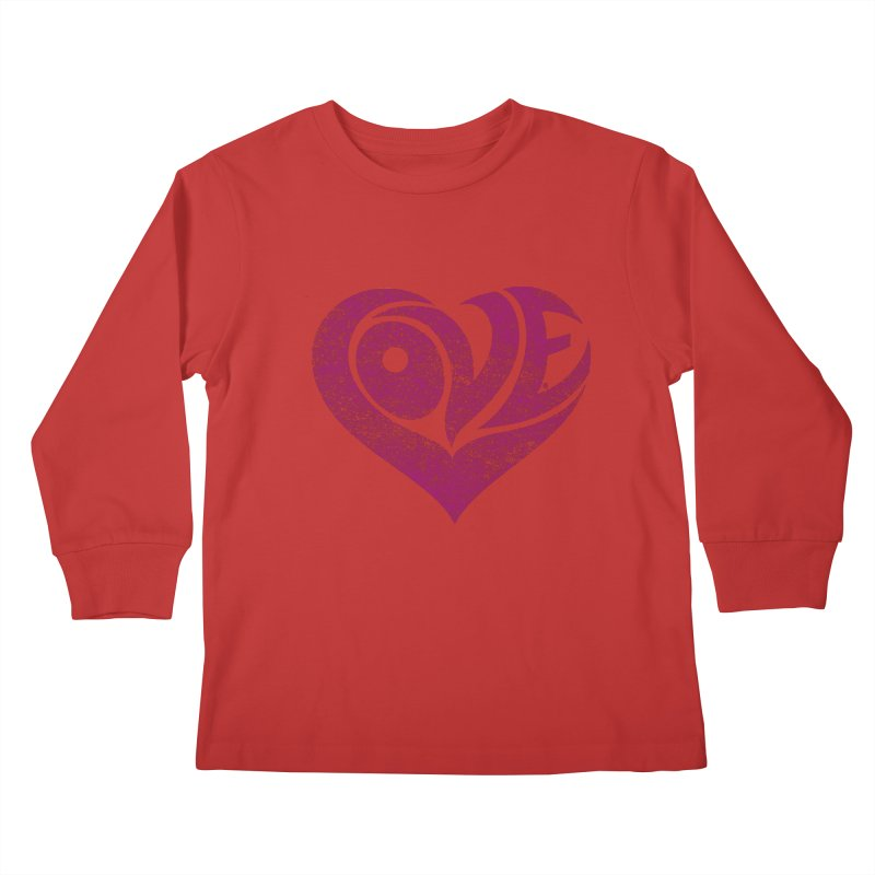 Love Kids Longsleeve T-Shirt by cmatthesart's Artist Shop