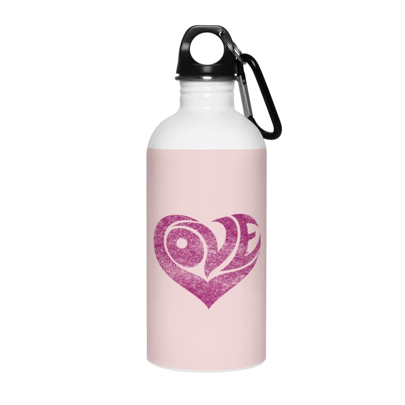 Love Accessories Water Bottle by cmatthesart's Artist Shop