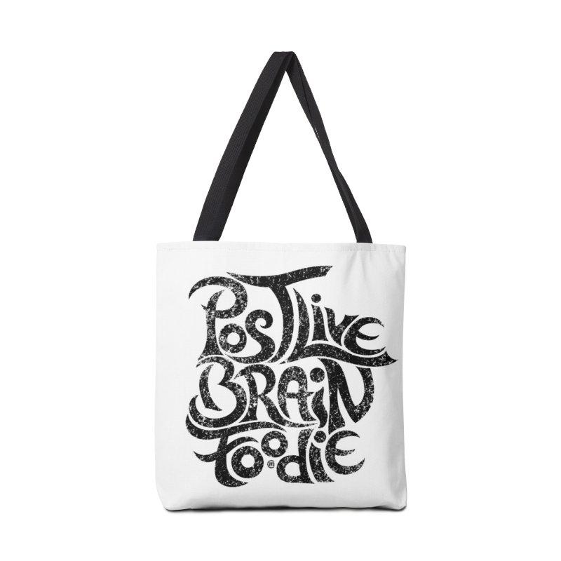 Post Live Brain Foodie Accessories Bag by cmatthesart's Artist Shop