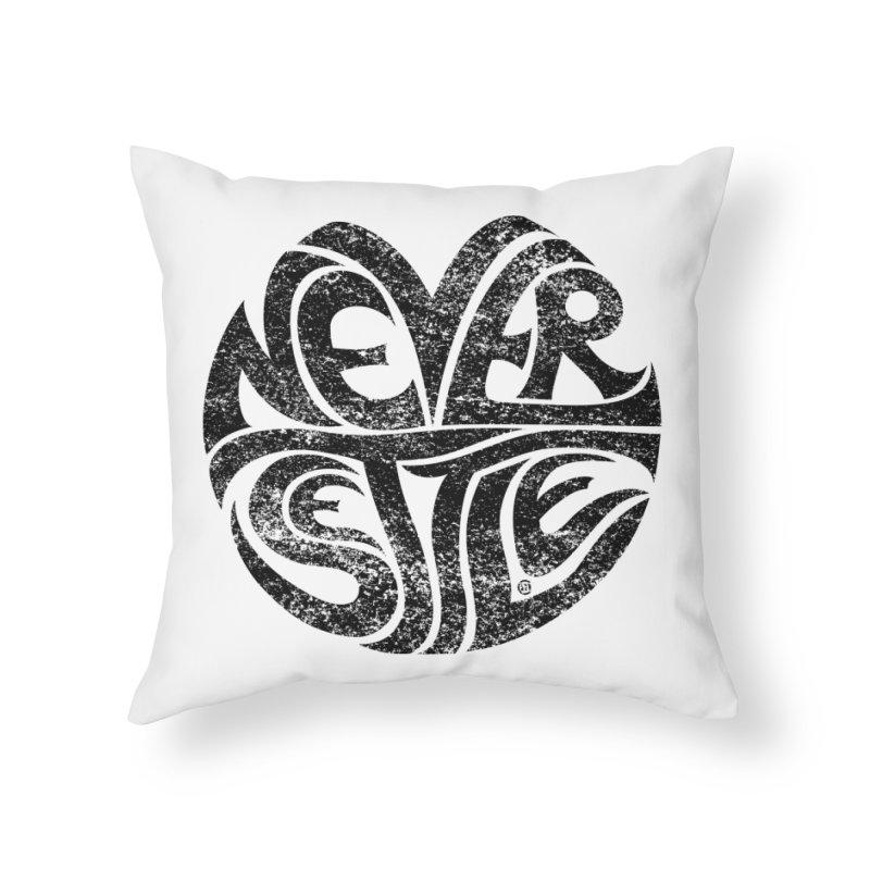 Never Settle. Home Throw Pillow by cmatthesart's Artist Shop