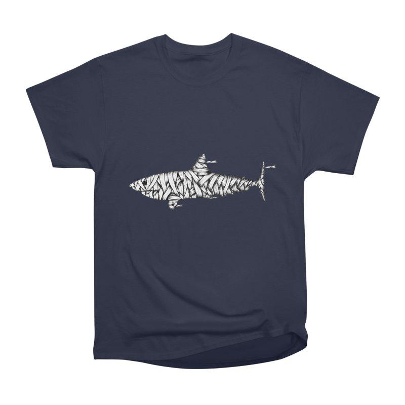 Mummy Shark Women's Heavyweight Unisex T-Shirt by cmatthesart's Artist Shop