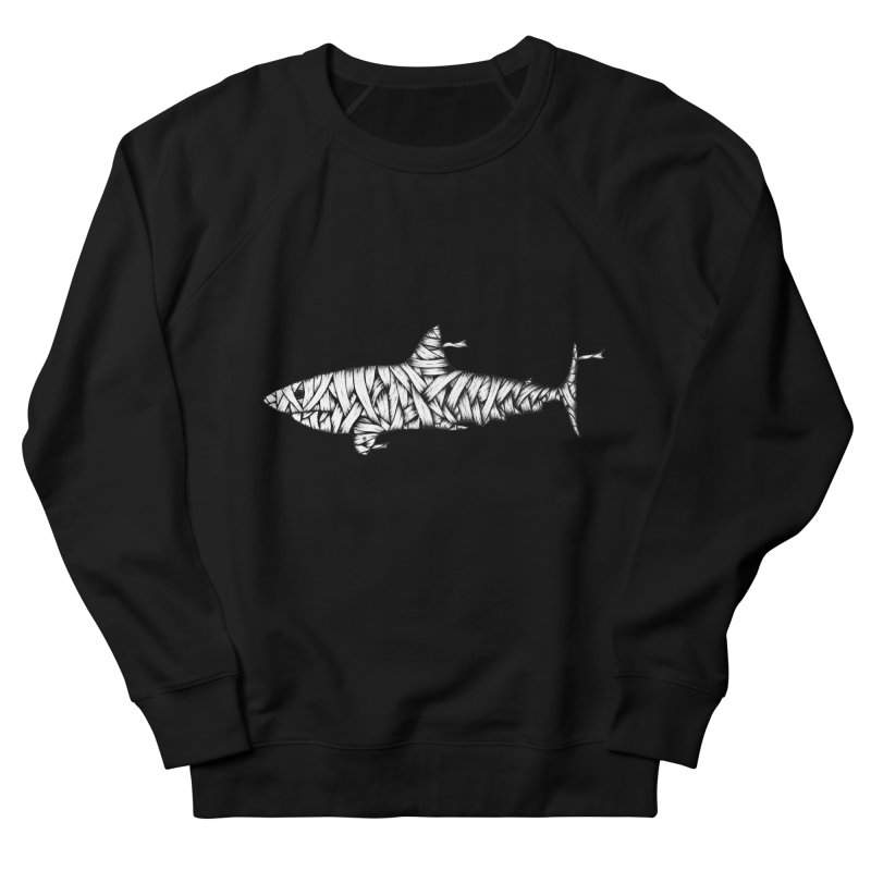 Mummy Shark Women's Sweatshirt by cmatthesart's Artist Shop