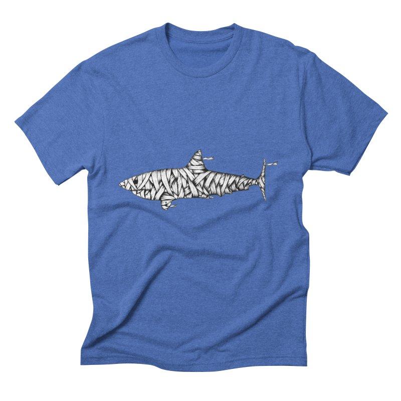 Mummy Shark Men's Triblend T-Shirt by cmatthesart's Artist Shop
