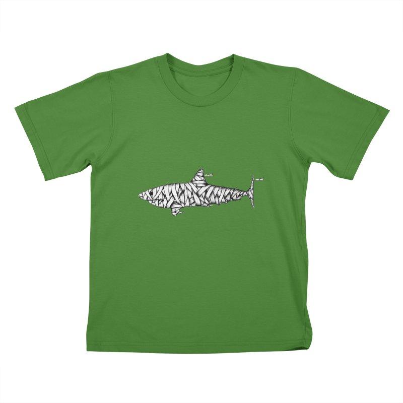 Mummy Shark Kids T-Shirt by cmatthesart's Artist Shop